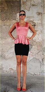Šaty - Dvojfarebné šaty - 1670112