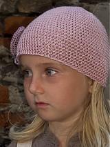 Čiapky - čiapka ružová - 1679355