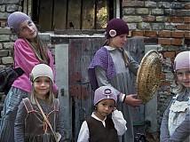 Detské čiapky - bordová veľká - 1679832