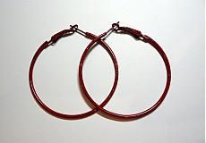 Komponenty - Náuš.kruhy 5cm-1pár - 1682701