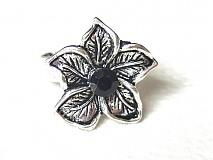 Prstene - kvet s čiernym očkom - 1684269