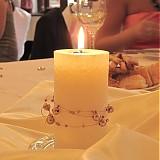 Svietidlá a sviečky - Sviečka na svadobný stôl - bez ozdoby - 1700150