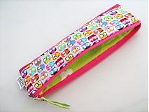 Taštičky - Veselé minisovičky -kosmetická,na tužky,pastelky - 1700595