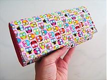 Taštičky - Veselé minisovičky -kosmetická,na tužky,pastelky - 1700604