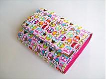 Taštičky - Veselé minisovičky -kosmetická,na tužky,pastelky - 1700605