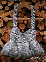 Kabelky - pure nature/taštička vlnená - 1700634