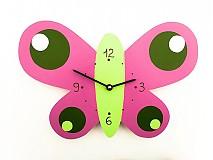 Hodiny - hodiny motýlik - 1710074