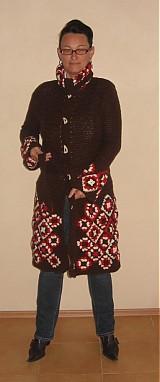 Iné oblečenie - Háčkovaný sveter - 171325