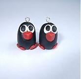 Náušnice - ♥Zamilované vtáčiky♥ - 172700