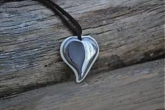 Prívesok - srdce