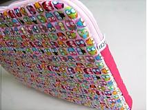 Veselý sovičkový- obal na notebook