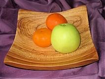 Nádoby - Moderná misa so sprchnutej jablone / na objednávku - 17394