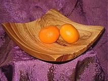 Nádoby - Moderná misa so sprchnutej jablone / na objednávku - 17397