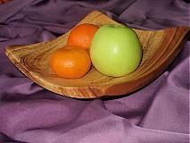 Nádoby - Moderná misa so sprchnutej jablone / na objednávku - 17398