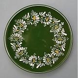- Tác, podnos, talíř kopretiny 22 zelený - 1742235