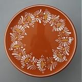 Nádoby - Tác, podnos, talíř kopretiny 22 světle hnědý - 1742248