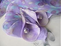 Náušnice - gentle flower - 1747982