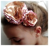 Ozdoby do vlasov - Čelenka- jesenné ruže:-). - 1754791