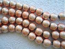 Korálky - Metalizované 10mm-10ks - 1758635