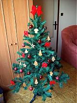 Dekorácie - Hríbik - vianočná ozdoba (Javor) - 1759925