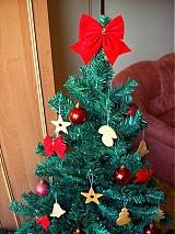 Dekorácie - Hríbik - vianočná ozdoba (Javor) - 1759990