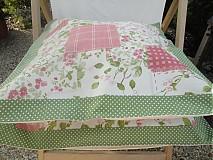 Úžitkový textil - Vankuš - Popolava ruža - - 1760687