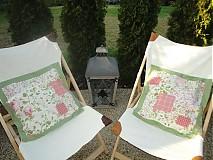 Úžitkový textil - Vankuš - Popolava ruža - - 1760689