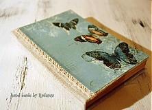 Papiernictvo - Na krídlach motýľov 1 (diár) - 1761381