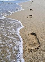 Fotografie - Stopy v piesku - 1762472