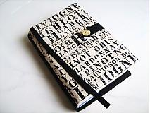 Papiernictvo - Pro všechny milovníky vín - obal na knihu, diář... - 1767891