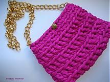 Kabelky - ružová kabelka - 1778486