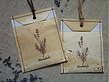 - Vintage vrecko plnené levanduľou  - 1790432