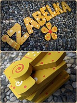 Tabuľky - slniečkové písmenká - 1792140