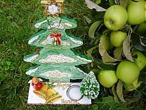 Vianoce - Vianocny stromcek-zvonceky - 1797412
