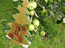 Vianoce - Vianocny stromcek-zvonceky - 1797414