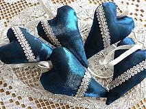 Dekorácie - modré Vianoce - 1802072