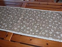 Úžitkový textil - Obrus s čipkou - 1807161