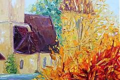 Obrazy - Dedinka v údolí... - 1807402
