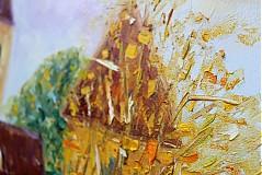 Obrazy - Dedinka v údolí... - 1807403