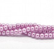 Korálky - Ružové perličky4mm -10ks - 1821903