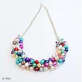 Náhrdelníky - Farebné perličky - 1832776