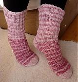 - Ponožtičky ružové 5 - 6 - 1833891