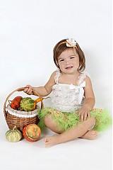 Detské oblečenie - TUTU zelená - 1834492