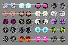 Motívy na šperky č.14-akcia na všetky motívy-4+1zdarma