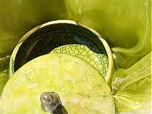 Dóza zelená s vrchnákom