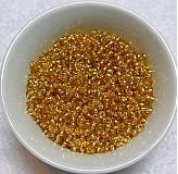 - Rokajl 2mm s prieť-zlatá-20g - 1839578