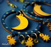 Náušnice - Nočná obloha - 1841943