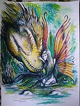 Kresby - Prehistorická víla - 1855058