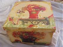 Krabičky - Papierová krabica - 1855367