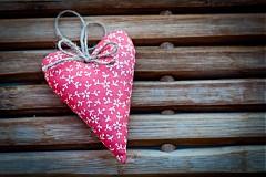 Dekorácie - Levanduľové srdce - 1856213
